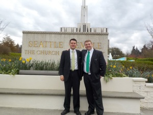 Seattle Temple Trip